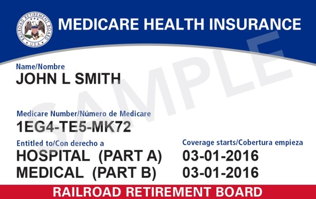 New RRB Card with Medicare Beneficiary Identifier (MBI) (source: CMS)