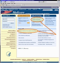 Medicare.gov Tutorial - The Medicare.gov Homepage