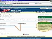Medicare.gov Tutorial - Find and Enter Your Drug Information