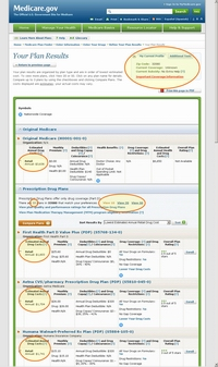 Medicare.gov Tutorial - Compare Medicare Plans in Your List (Plan Details)