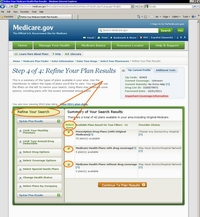 Medicare.gov Tutorial - Your Personalized Medicare Plan Summary